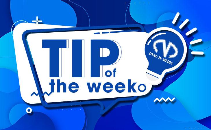TIP of the week   DYNU IN MEDIA