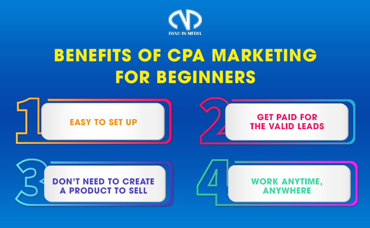 Benefits of CPA Marketing For Beginners | DYNU IN MEDIA