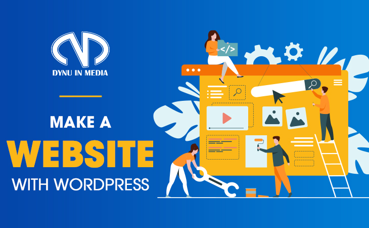 Make a website with WordPress - 5 Steps To Affiliate Marketing Success | DYNU IN MEDIA