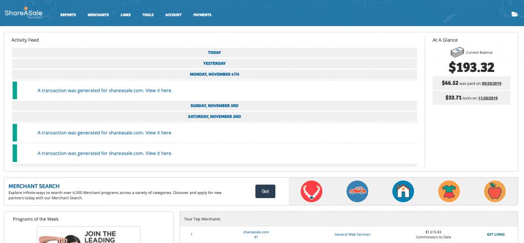 ShareASale Affiliates | TOP affiliate marketing websites