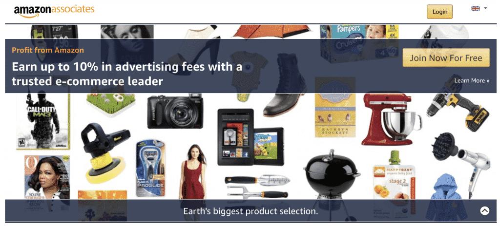 Amazon Affiliates - Top Affiliate Marketing Websites | DYNU IN MEDIA