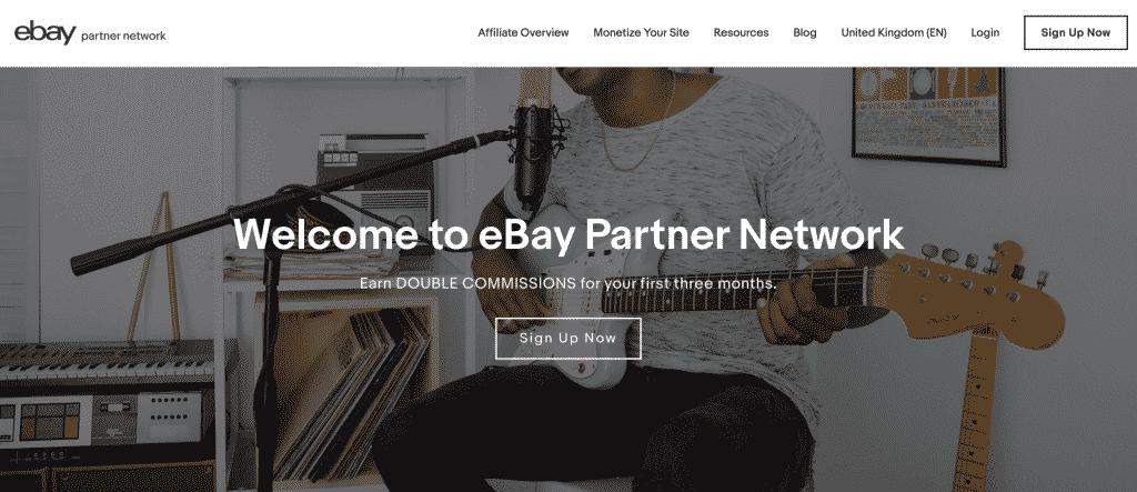 eBay Partners - Top affiliate marketing websites | Dynu In Media