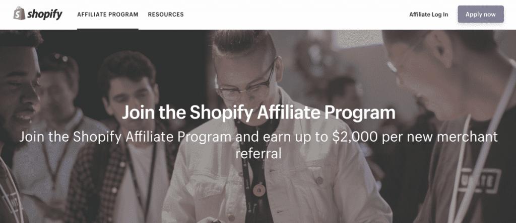 Shopify Affiliate Program - Top affiliate marketing | Dynu In Media