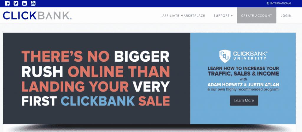 Clickbank - Best affiliate marketing websites | Dynu In Media