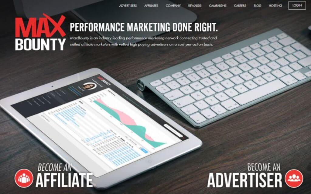 MaxBounty - Top CPA Marketing network   DYNU IN MEDIA