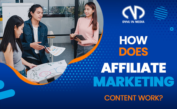 How does affiliate marketing content work?