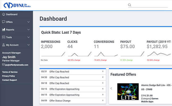 HasOffers - Best Affiliate Tracking Software
